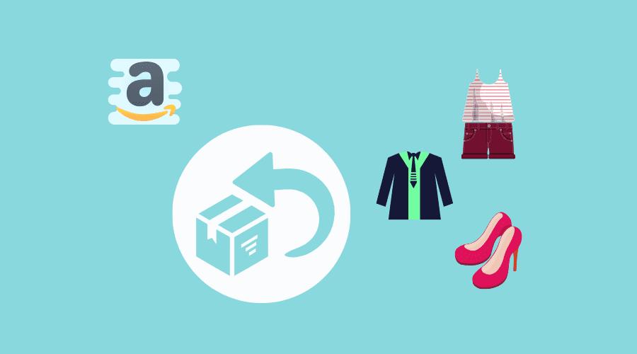 amazonで購入した衣服を試着して合わないので返品している