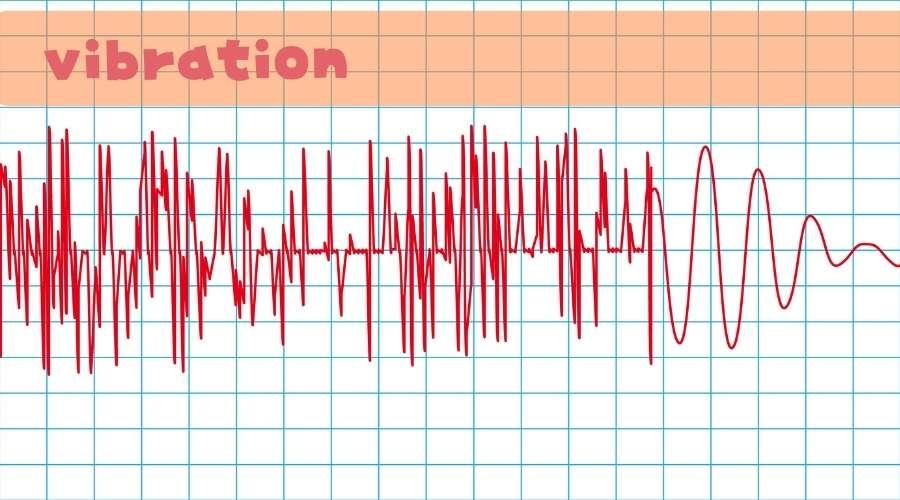 振動のデータ