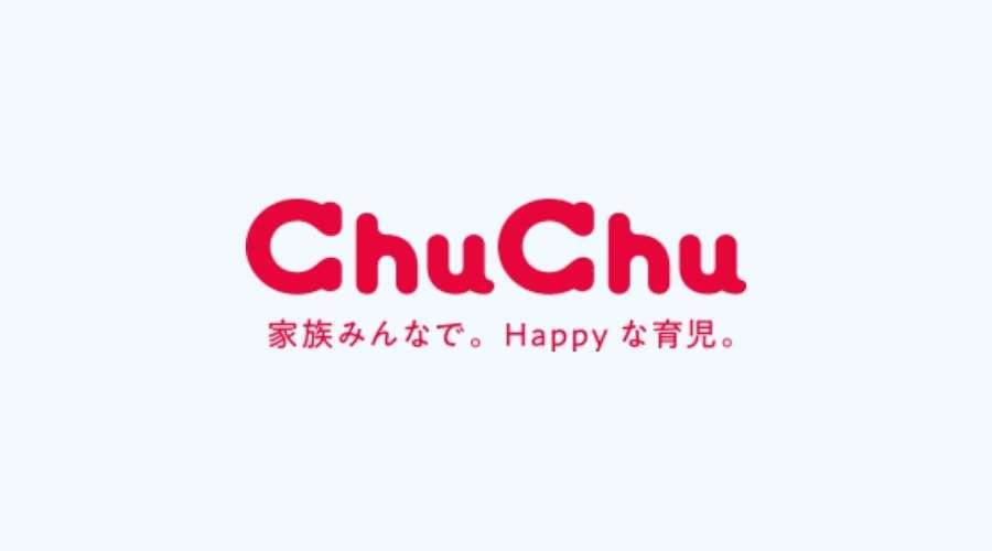 ChuChuのロゴが書かれている
